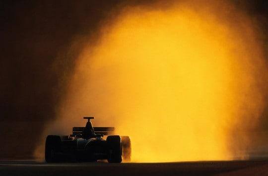 Eddie Irvine, Valencia 2002print