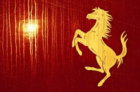 Ferrari's prancing horse, Italy 2004ii